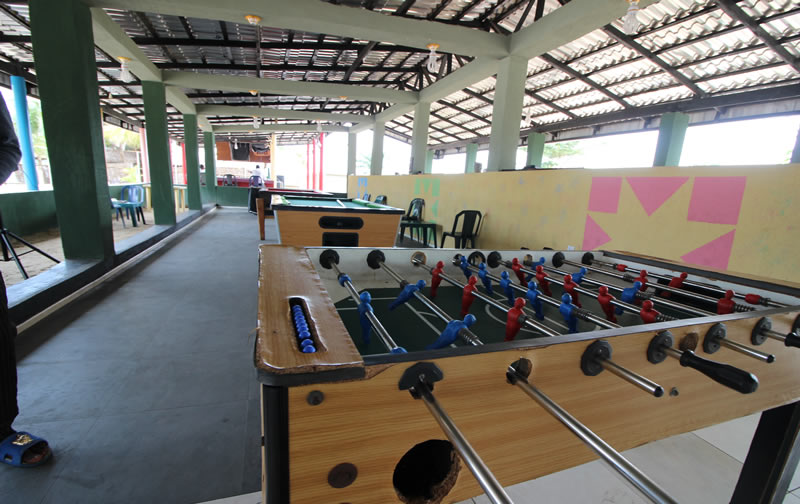 For tourists, who are interested in sports, there are sports facilities available at Whispering Palms